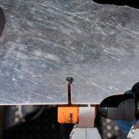 The Professional Nibbler cuts Aluminium up to 2.0mm (14 Gauge)