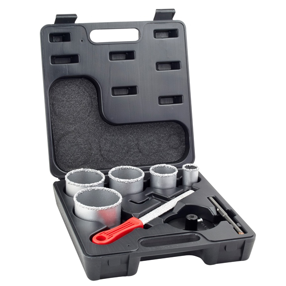 8 PIECE HOLESAW SET - HS00-0