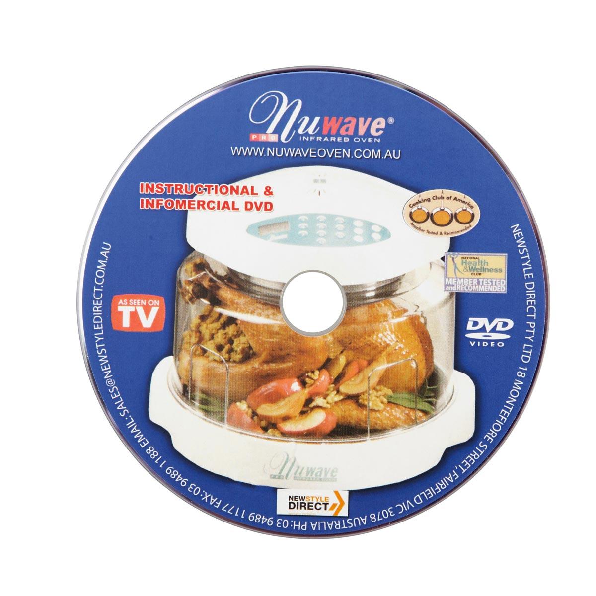 NUWAVE INSTRUCTIONAL DVD-0