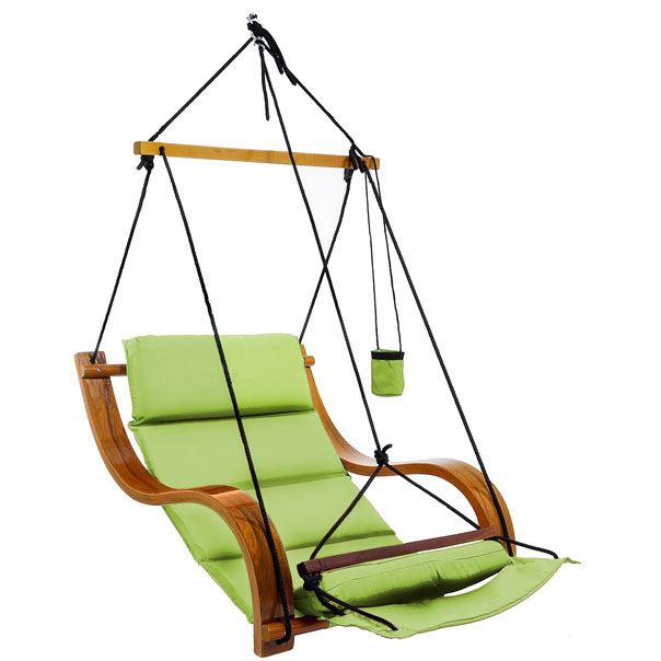 LIME CLOUD 9 HANGING CHAIR PLAIN FABRIC - Lime CP05B-0